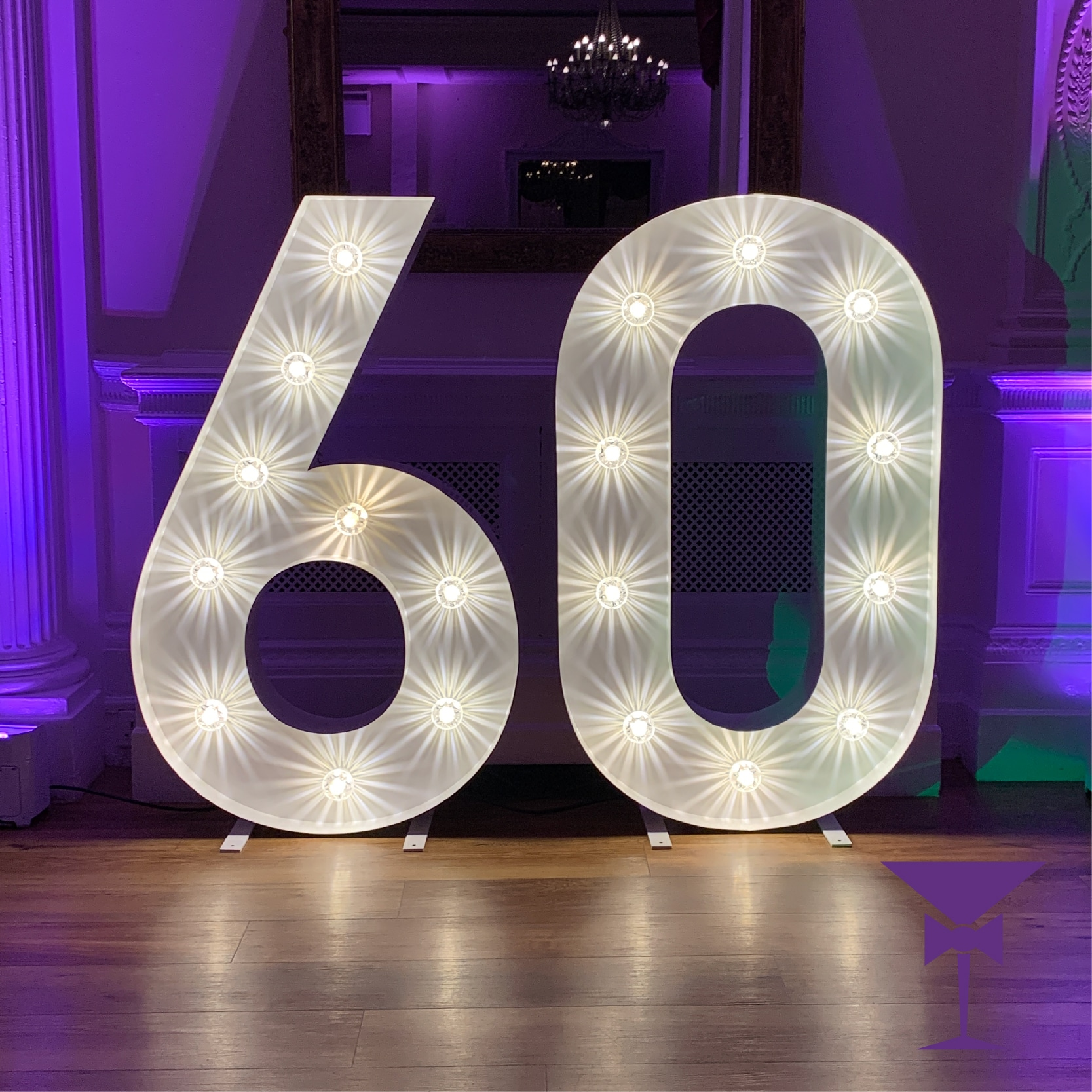 Hire Light up numbers in Bromley & Beckenham
