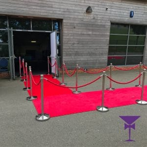 Luxury red carpets for hire in Surrey