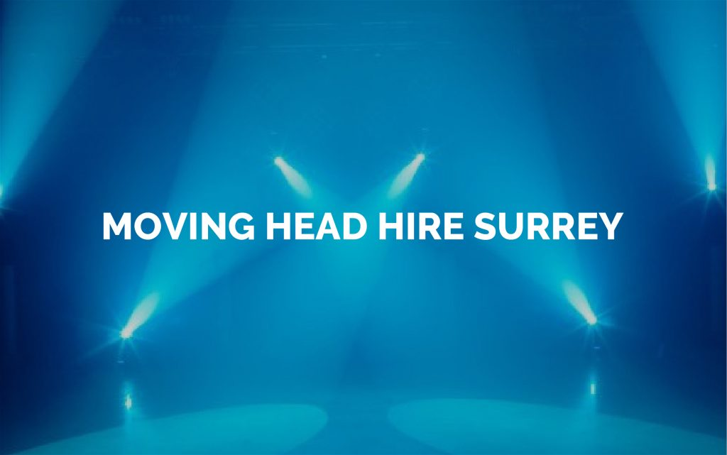 Moving Head Lights for Hire Surrey