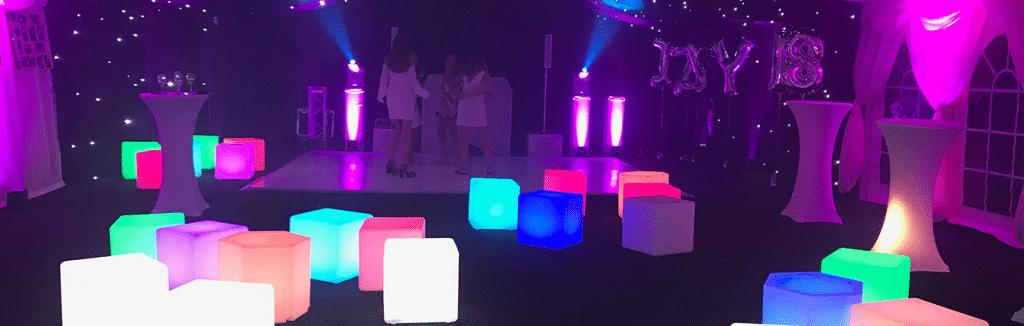 LED Furniture hire London