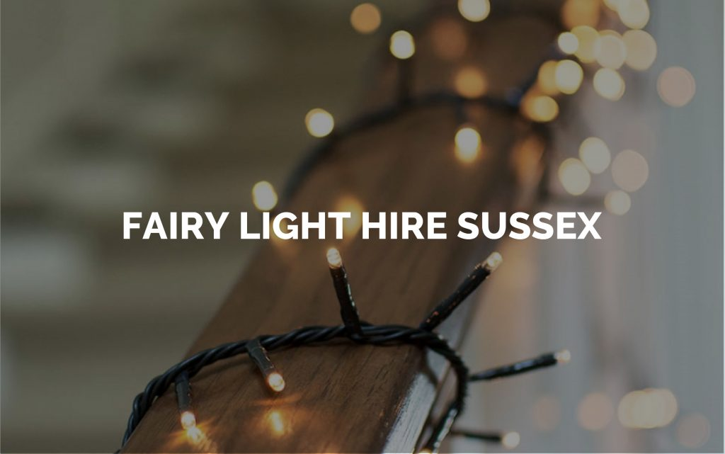 Fairy Lights For Hire in Sussex