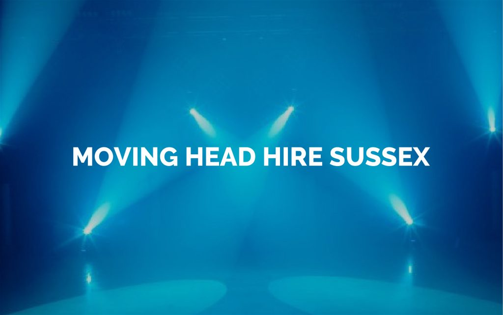 Moving Head Lights For Hire in Sussex