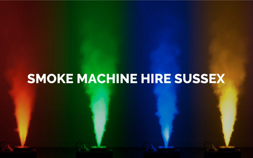 Smoke & Haze Machine Hire Sussex
