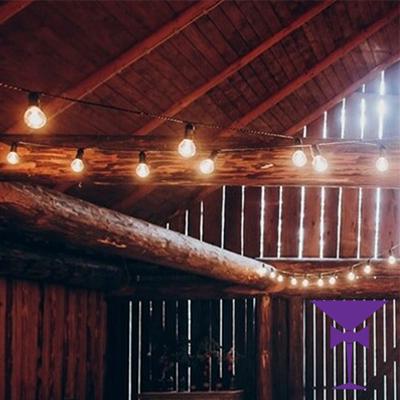 Lighting Hire London - Festoon Lighting For Weddings & Events