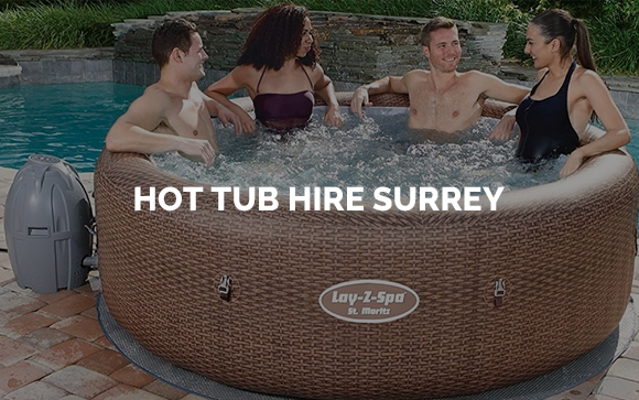 Hot tubs for hire in Surrey