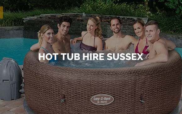 Hot tubs for hire in Sussex