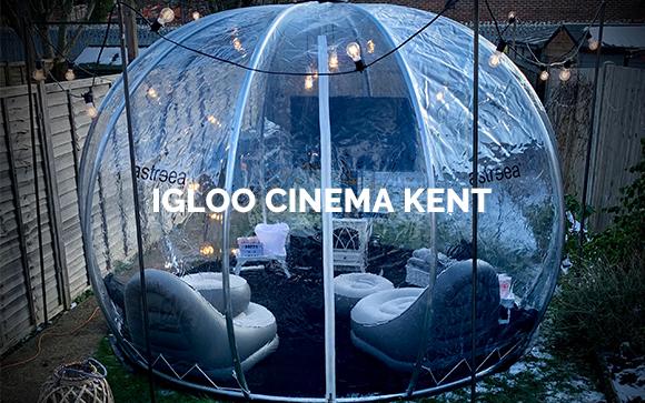 igloo Cinema Kent Menu