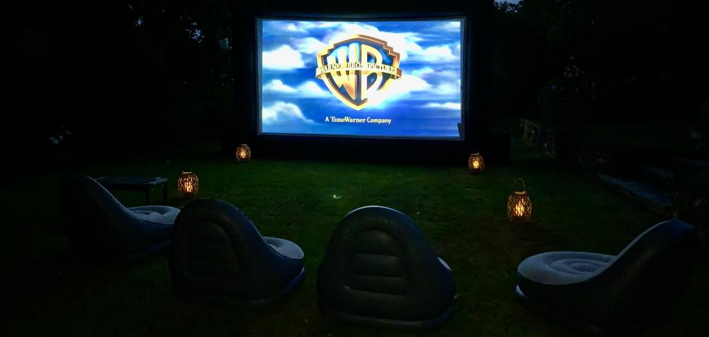 Giant outdoor cinema hire kent