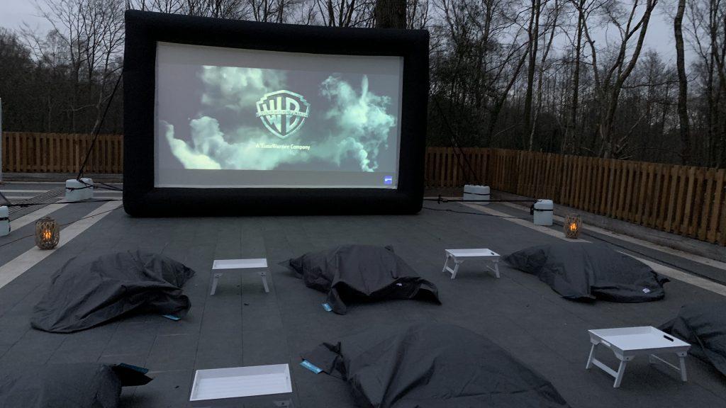 Outdoor cinema package surrey