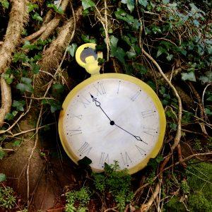 Alice in wonderland clock prop