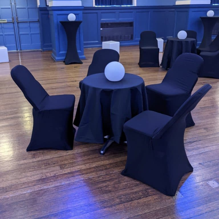 Bistro table with table cover