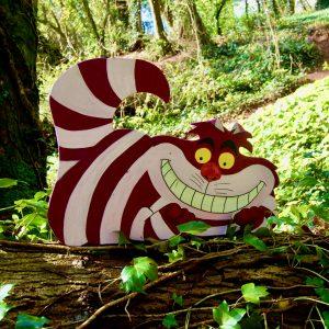 Alice in wonderland cheshire cat prop