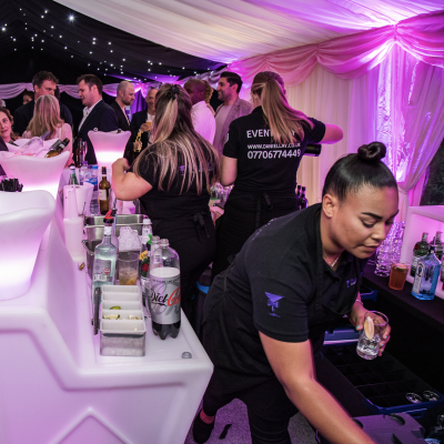 Party Bar Staff in Kent, Surrey, Sussex, London & Essex